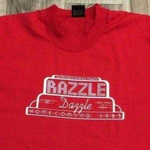 NEW Vintage 80s OSU Homecoming T Shirt XL